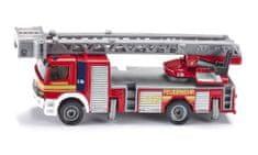 SIKU Straż pożarna z drabiną, 1:87