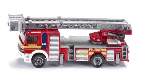 SIKU Super: gasilski tovornjak z lestvijo, 1:87