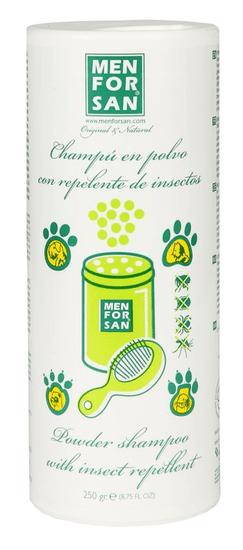 Menforsan Práškový šampón s repelentom 250g