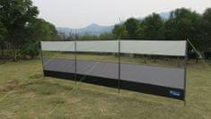 Kampa zaščitna ograja, 500 x 140 cm, siva
