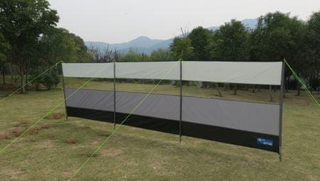 Kampa zaštitna ograda, 500 x 140 cm, siva