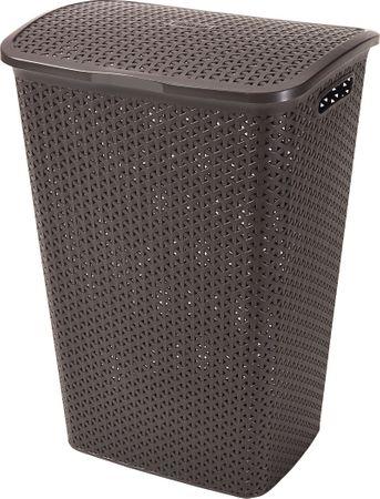 CURVER kosz na pranie Rattan – 55 l