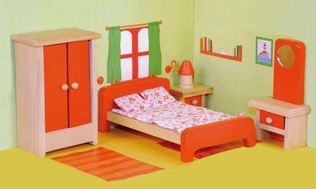 Woody pohištvo za hišico - spalnica