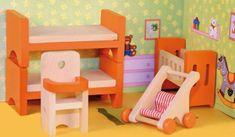 Woody Játszószoba babaház kiegészítő