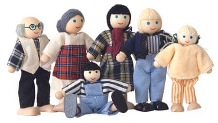 Woody Baba család, 6 db babával