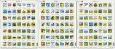 LARSEN Maxi puzzle 49 db-os Állatok 1 (magyar nyelvű) Zoo3