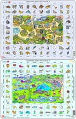 LARSEN Lekcja angielskiego puzzle 2 MAXI
