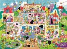 GALT Magické puzzle - rozprávkový palác 2