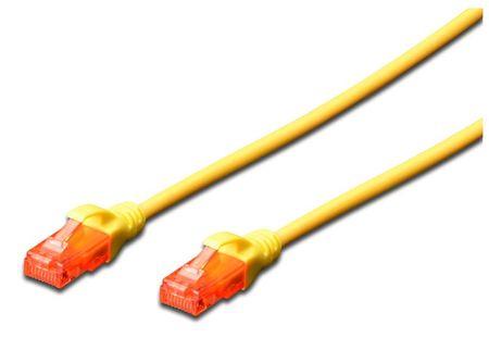 Digitus mrežni kabel UTP CAT.6 Patch, 3m, rumen