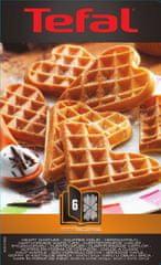 Tefal wymienne płytki XA 8006 ACC Snack Collection Heartwaffles Box