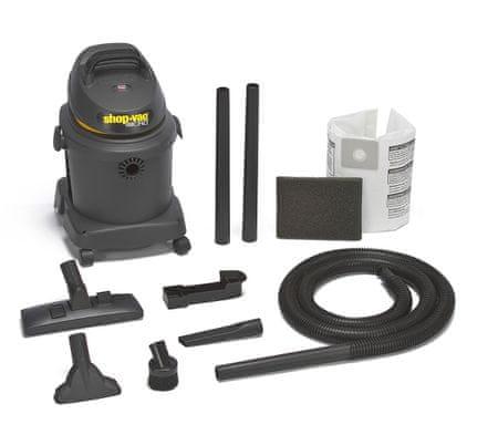 Shop-Vac Micro 16 Portable Ipari porszívó, Sárga csíkkal