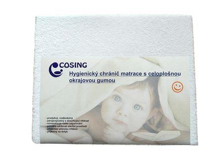 COSING Higieniczny ochraniacz na materac 60x120 cm, biały