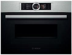 Bosch kompaktna pečica z mikrovalovi CMG656BS1