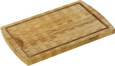 Zassenhaus kuhinjska deska za rezanje iz bambusa, 36 x 23