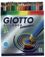 Giotto barvice Stilnovo akvarel, 24/1