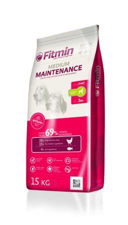 Fitmin karma sucha dla dorosłych psów średnich i dużych ras Medium Maintenance 15 kg + 2 kg