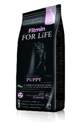 Fitmin For Life Puppy Száraz kutyatáp, 15 kg