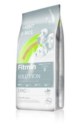 Fitmin Solution Rabbit&Rice kutyatáp - 13kg