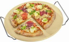 Pizza kameň s rámom, priemer 30 cm