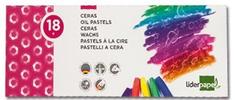 Liderpapel oljne pastelne barvice, 18 kosov