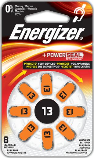 Energizer Baterie pro audioprotetiku 13 8pack
