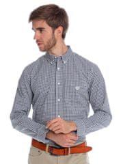 Chaps jemně kostičkovaná pánská košile