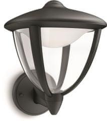 PHILIPS (15471/30/16) Robin Kültéri Fali lámpa, Fekete