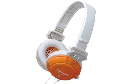 Panasonic slušalke RP-DJS400AE, oranžne
