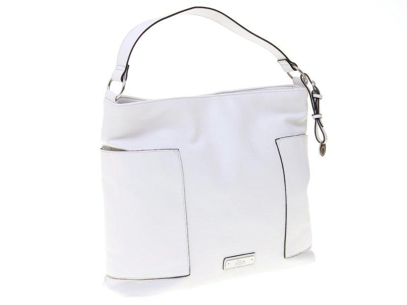 s.Oliver elegantní dámská kabelka na cvoček bílá - Parametry  16c69a81f8