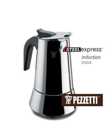 Pezzetti Steelexpress Kávéfőző, 2 személyes