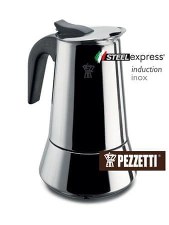 Pezzetti Steelexpress Kávéfőző, 300 ml