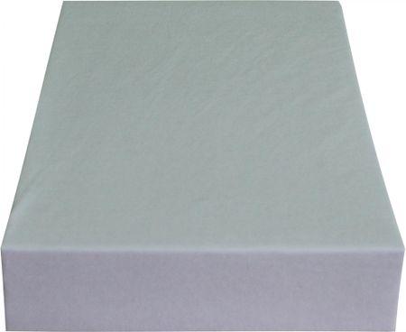 Greno rjuha Jersey, 140 x 200 cm, svetlo siva