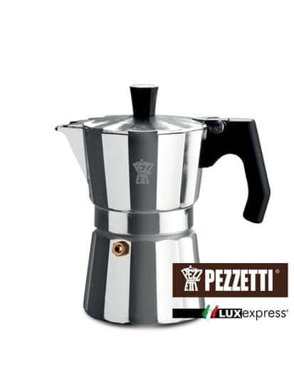 Pezzetti Luxexpress moka kanvica, 3 šálky, 150ml