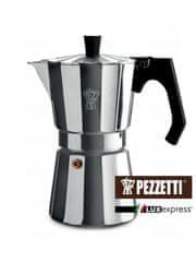 Pezzetti Luxexpress Kávéfőző, Ezüst, 6 személyes