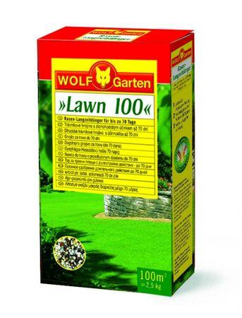 Wolf - Garten trofazno gnojivo za travu s početnim i dugotrajnim učinkom LN-MU250/CEE