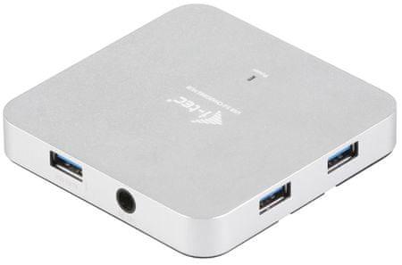I-TEC Metal Charging 4 portos USB 3.0 elosztó