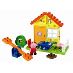 PlayBIG Bloxx Peppa domek letni, 19 elementów