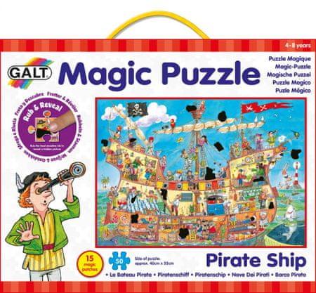 Galt Mágikus Puzzle - Kalóz Hajó 2