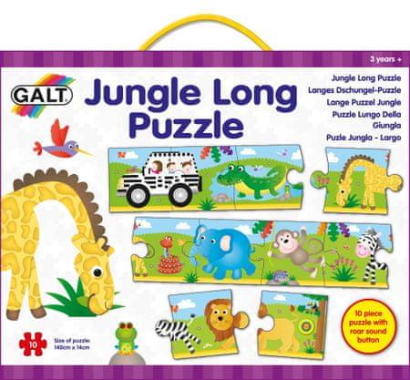 Galt Dlouhé podlahové puzzle - Džungle