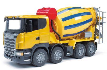BRUDER Samochód betoniarka SCANIA R (1:16)