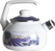 Metalac Čajová kanvica s píšťalkou levandule, 2 litre