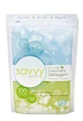 Savvy Green prašak za pranje rublja 1,23 kg, 108 pranja