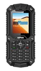myPhone HAMMER, černý - zánovní