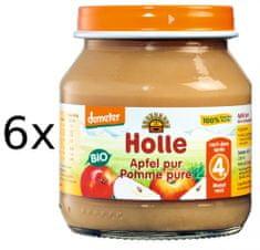 Holle Bio 100% jabĺčko - 6 x 125g