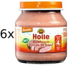 Holle Bio Hovädzie mäso - 6 x 125g
