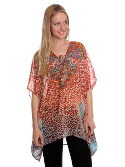 Brave Soul dámská tunika Steph S oranžová