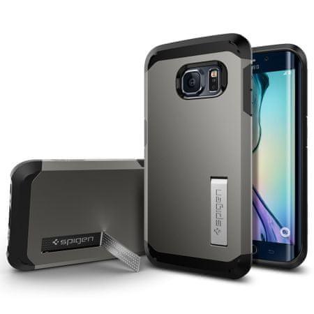 Spigen ovitek Tough Armor za Samsung Galaxy S6 Edge, rjavo-siv