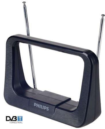 Philips sobna digitalna TV antena SDV1226 (HDTV/UHF/VHF/FM)
