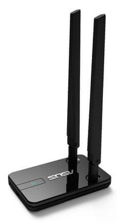 Asus USB-N14 brezžični adapter N300 2x 5dBi anteni