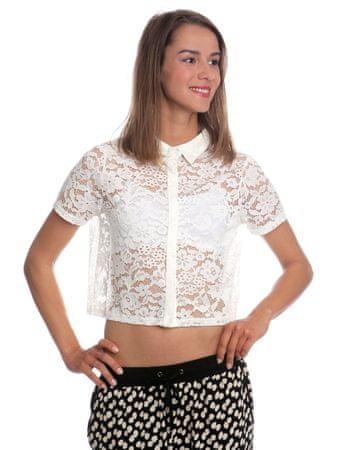 Brave Soul dámská košile Cynthia M bílá